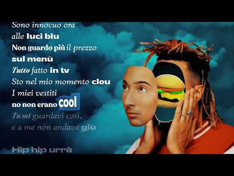 Ghali - Fast Food (Lyrics Video)