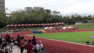 103全大運一般男4x400m接力決賽-臺灣大學破大會紀錄