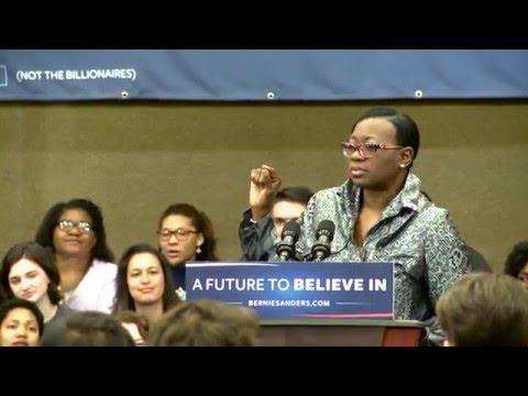 Nina Turner: Bernie Sanders is a Champion for Civil Rights