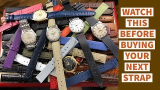 What kind of watch strap should I get?  A simple issue, but a big problem for many watch enthusiasts