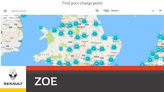 ZOE Expert - Planning a Journey