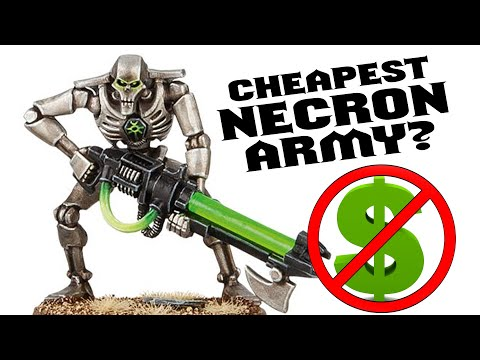 The Cheapest Way To Collect Necrons For Warhammer 40k