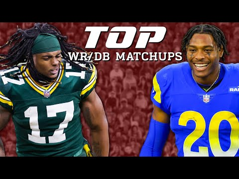 Top 3 Wide Receiver vs. Cornerback Matchups for Divisional Round