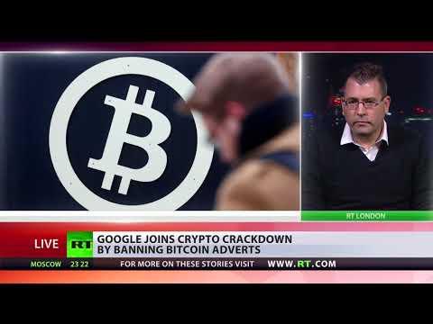 Google bans bitcoin adverts