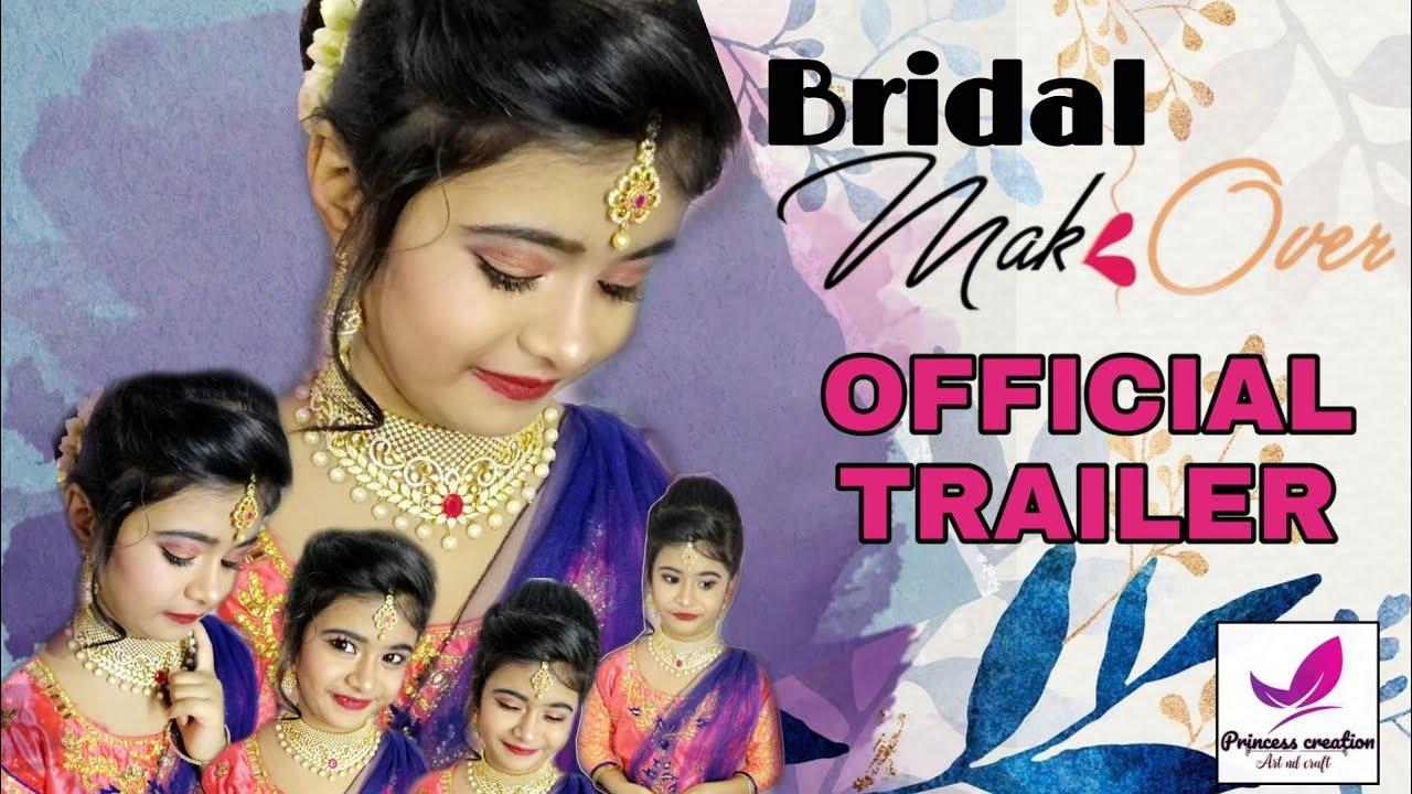 Bridal Makeup in Tamil   official Trailer  princess creation