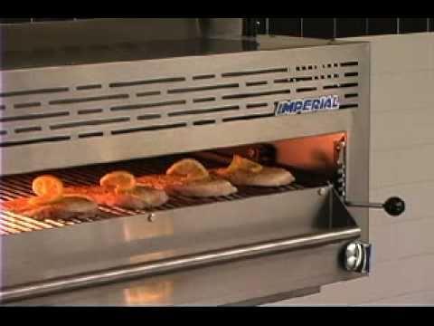 kitchen salamander best cabinet cleaner imperial broiler youtube