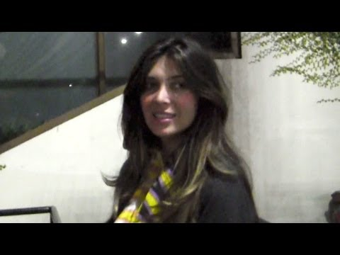 Brittny Gastineau Dines At STK, Comments On Kanye West Paparazzo Attack