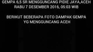 Dampak Gempa 6,5 SR Yg Melanda Pidie Jaya Aceh,(kausarpaloh)