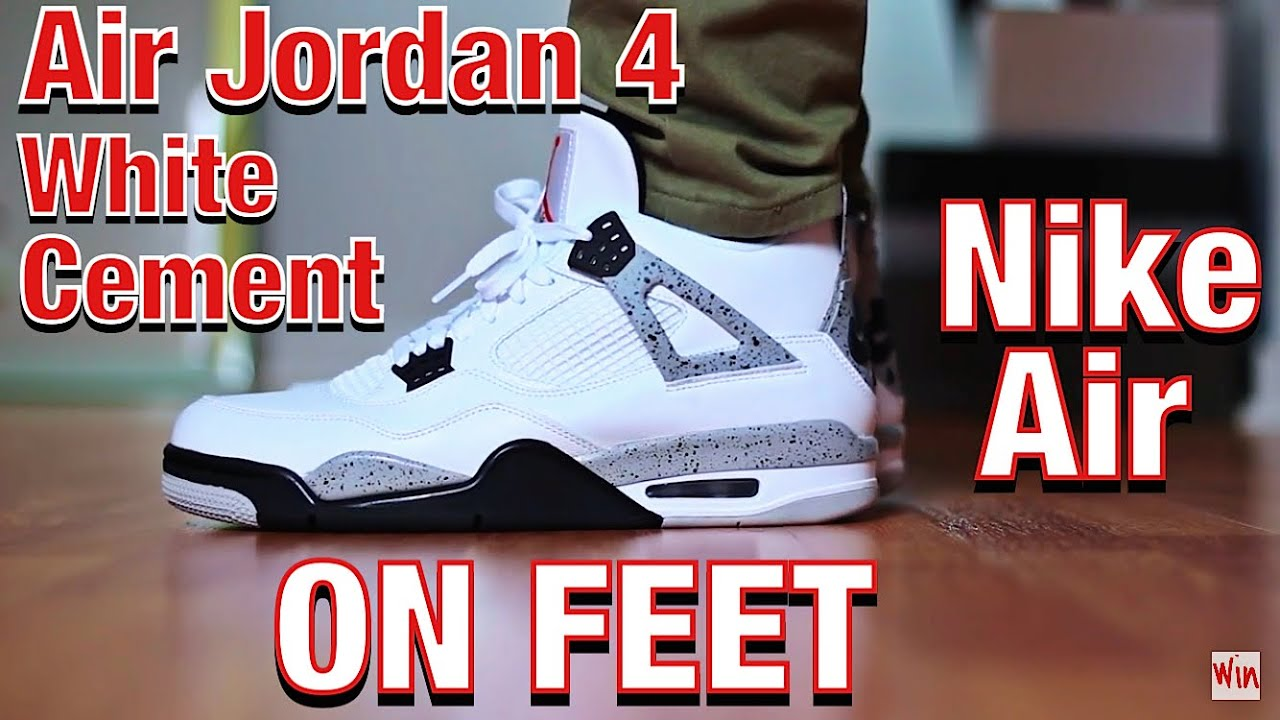 nike Hyperfuse 2011 - Air Jordan 4 \u0026quot;WHITE CEMENT\u0026quot; 2016 NIKE AIR RETRO - ON FEET \u0026amp; FULL ...