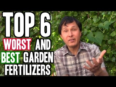 Top 6 Worst and 6 Best Garden Fertilizers YouTube
