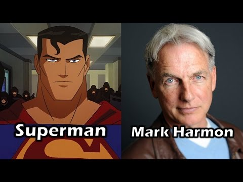 Characters and Voice Actors - Justice League: Crisis on Two Earths