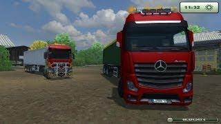 Farming simulator 2013 Lexion 780 TT Man TGX e Actros
