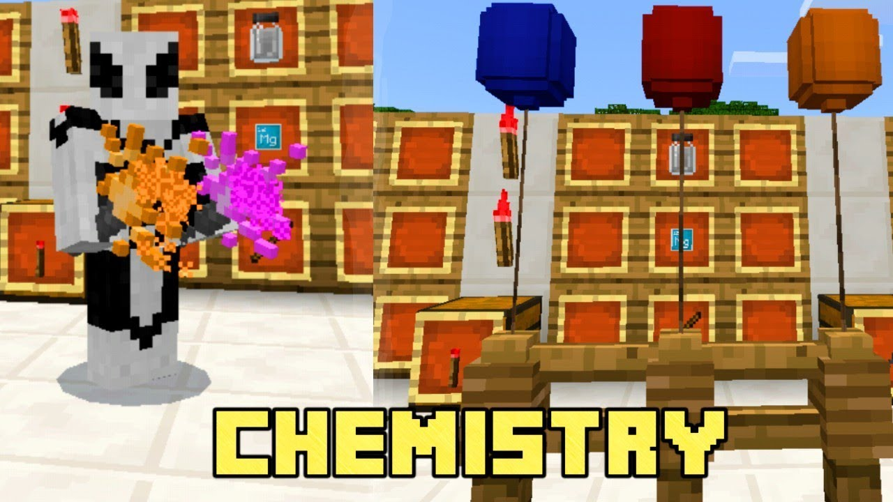 New Minecraft Bedrock Edition Beta Chemistry Lab Education Editon Youtube
