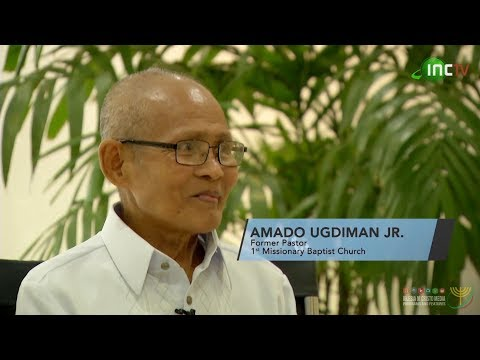 Brother Amado Ugdiman - Former Pastor, 1st Missionary Baptist Church