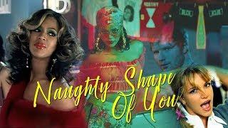 Titus Jones - Naughty Shape Of You [Ed Sheeran / Britney Spears / Beyonce / Rihanna]