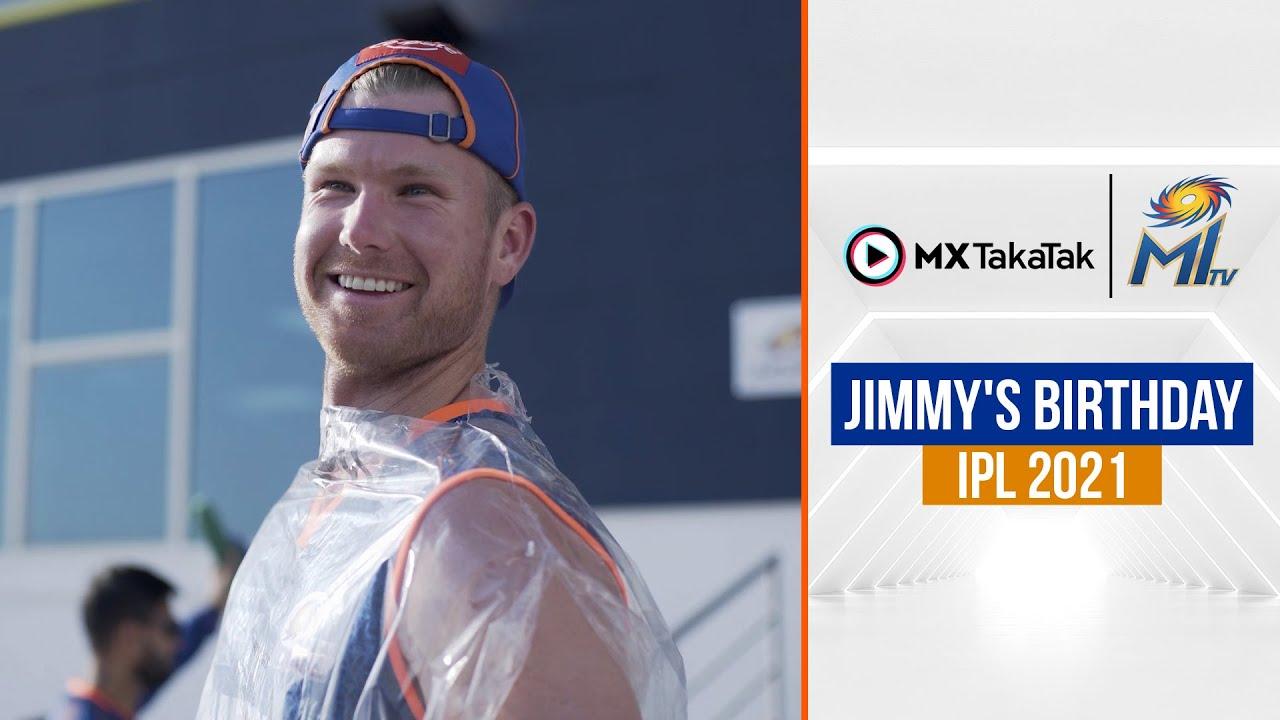 Jimmy's Birthday | जिमी का जन्मदिन | IPL 2021