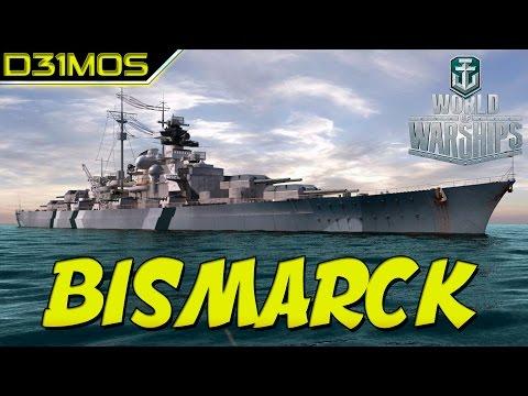 WoWs: BISMARCK O MONSTRO!