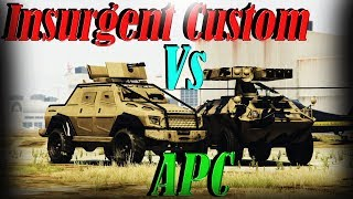 Gta 5 Online | Apc Vs Insurgent Pick Up Custom - Armor, Speed, And More - Which To Buy?