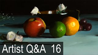 "The Myth of ""Natural Talent"" & more – Ep.16 Oil Painting Q&A with Mark Carder"