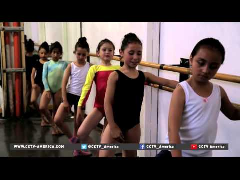 Ballet school offers alternative to rough Colombia streets