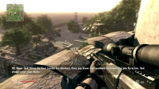 Sniper: Ghost Warrior - Hard - Mission 4 - Dangerous Grounds