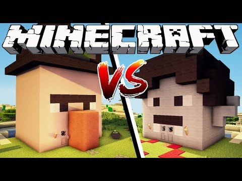 WITCH HOUSE VS VAMPIRE HOUSE - Minecraft