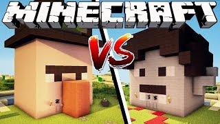 WITCH HOUSE VS VAMPIRE HOUSE - Minecraft