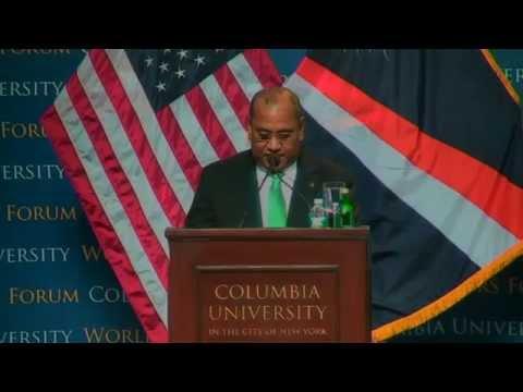 World Leaders Forum: Christopher Jorebon Loeak, President of the Republic of the Marshall Islands