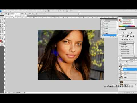 Adriana Lima No Makeup speed edit