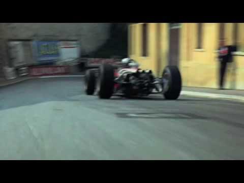 In Car Camera  Grand Prix 1966 Monaco