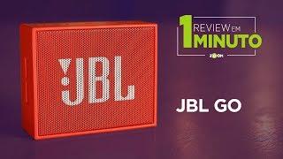 JBL GO - Caixa de Som Bluetooth - ANÁLISE | REVIEW EM 1 MINUTO - ZOOM
