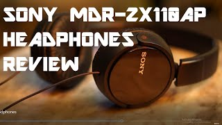Sony MDR ZX110 Headphones Revi…