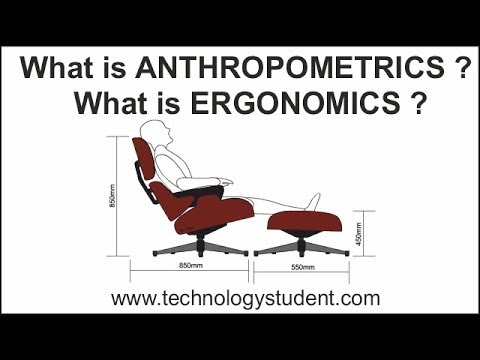 What Are Anthropometrics And  Ergonomics?