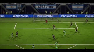 #40 FIFA 18 PS4 All World Cup Russia 2018 Matches // NIGERIA Vs ARGENTINA - Group D - Matchday 3