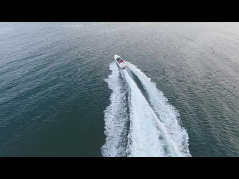 Phantom 4 Drone and Speedboat chase