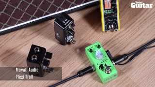 Mini Effects Pedal Shootout Demo: Distortion (Movall, Red Witch, Stagg, Rainger FX)