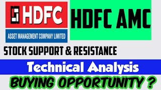 HDFC AMC Stock Analysis   Weekly Analysis  Next Week Support & Resistance