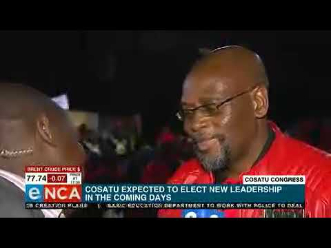 Cosatu President Speaks To ENCA About 13th National Congress Launch