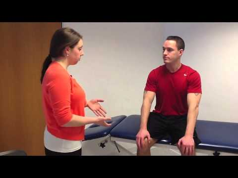prone knee bend/femoral nerve tension test - youtube, Muscles