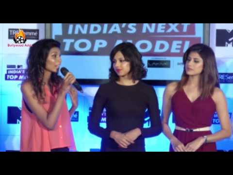 Lisa Haydon - Dabboo Ratnani - Press Conference - India's Next Top Model