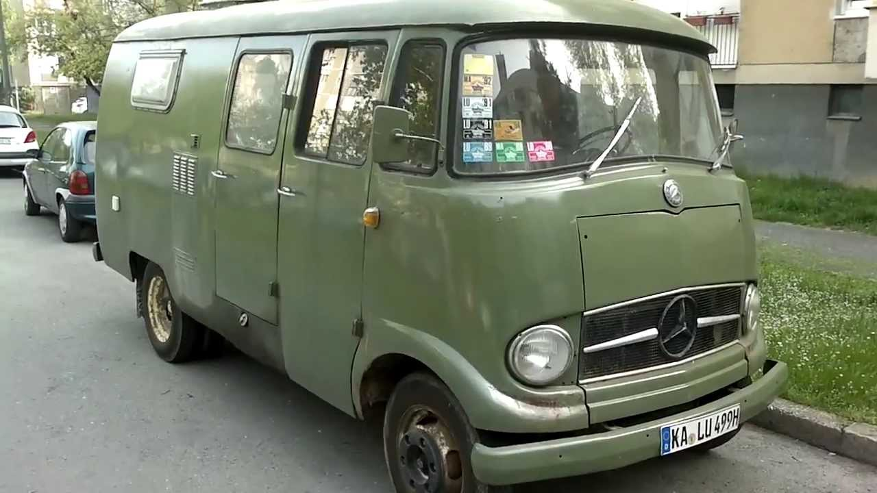 Mercedes Benz Vito Van Sale >> ᴴᴰ 1955 Mercedes-Benz L 319 Van - YouTube