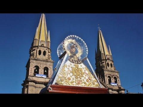 2018 Virgen de Zapopan visita Catedral de Guadalajara