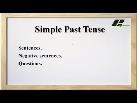 Simple Past Tense (English)