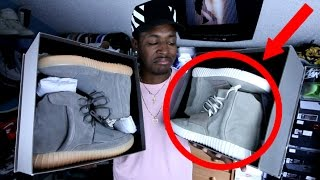 I'VE BEEN WEARING FAKE YEEZYS THIS WHOLE TIME? (EXPOSED)