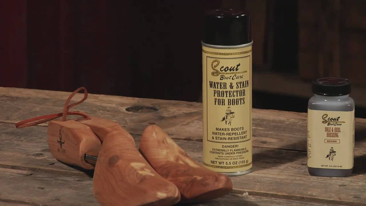 Sheplers How To - Distressed Cowboy Boot Care - YouTube