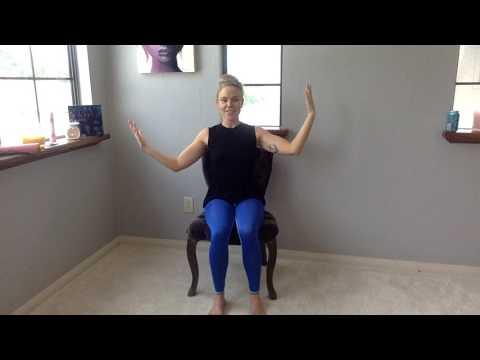 20 minute chair yoga class