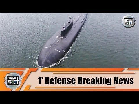 Russian Navy nuclear-powered submarine Omsk launches cruise missile Russia 1' Defense Breaking News