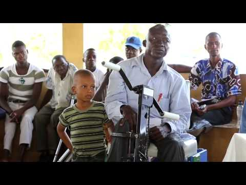 Reaching out to People Living with Disabilities in Sierra Leone