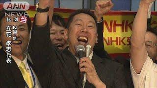 【参院選】立花孝志氏(N国:新)が比例で当選(19/07/22)