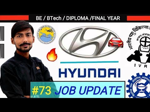 HYUNDAI MOTORS INDIA recruitment 2019, CSIR CIMFR, CEL, IREL & more : #73 JOB UPDATE